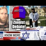 "Zionist Debate! Adam ""Know More News"" Green vs. Zionist Organization Of America's Antar Davidson"