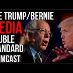 The Donald Trump / Bernie Sanders Media Double Standard Exposed By Baltimore Tweets