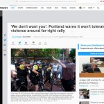 Proud Boys Won A PR Victory In Portland While Antifa Beat Random People