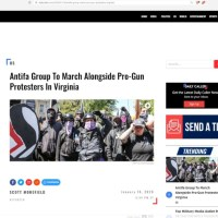 Antifa Plans To SUPPORT Conservatives In Defense Of 2A Rights At Richmond Virginia Rally