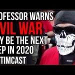 Professor Warns CIVIL WAR May Be Next Step Of Civil Unrest As Cops Quit While Antifa Escalates
