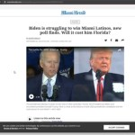 Trump Is Winning In Florida As Hispanics Favor Him Over Biden And Media PANICS