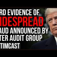 HARD Evidence Of Widespread Fraud Announced By Voter Audit Group, Media And Democrats STILL Deny It