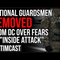 Democrat Says National Guard Is Suspect For Being White Men, DC REMOVES Guards Fearing Inside Attack
