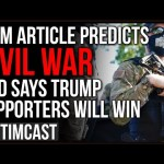 DHS Program Likened To Dystopian Pre-Crime, Feds Are Targeting The Right, Giving Antifa Free Pass