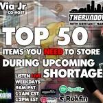 The Rundown Live #779 – Top 50 Items, Robot Takeover, A.I. Lie Detector, Illuminati