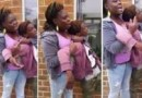 Lovely Black Mom Puts A Kid In A Headlock For Jumping Her Daughter