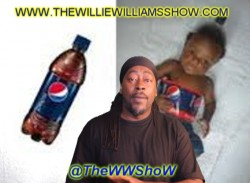 Creative Halloween Costume Black Baby as A Pepsi Bottle