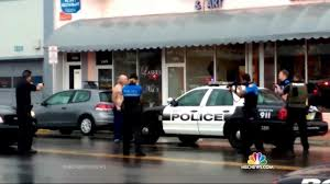 Police Fatally Shoot Shirtless Bank Robbery Suspect On Video