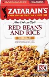 Zatarain's Red Beans and Rice Recalled