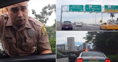 Citizen pulls over Florida officer for speeding
