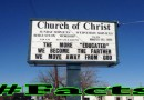 Best Church Sign Ever #Facts