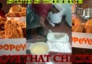 Popeye's Chicken Secret Ingredients Caught On Camera (I Think)