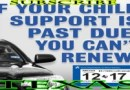 Texas Law Links Car Registrations to Child Support Payments