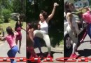Grown Black Female Pulls Out A Gun While Young Queens Are Fighting #BestFemales