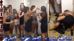 Stay Off The Ground in The Club in The Lady's Restroom