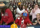 Lovely Mother Walks Out On Her Son ON Signing Day on Live on T.V.