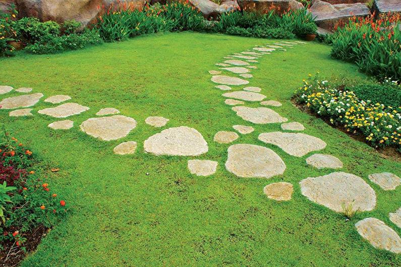 Ornamenti per il giardino con le loro mani - piste da giardino