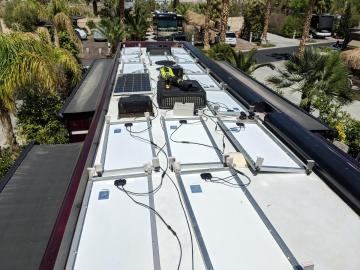 Solar Roof - Mid-install