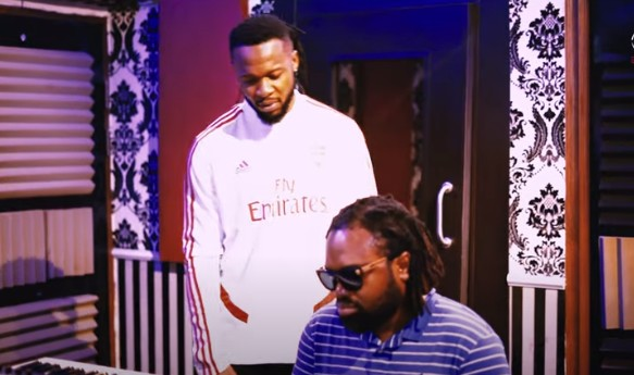 Flavour – Studio Session With Cobhams See Video.