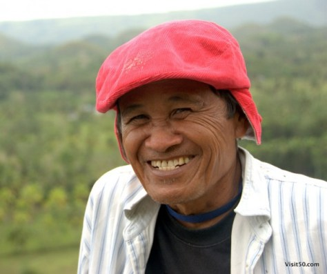 Portraits from Bohol - Philippines - How awesome is that hat??