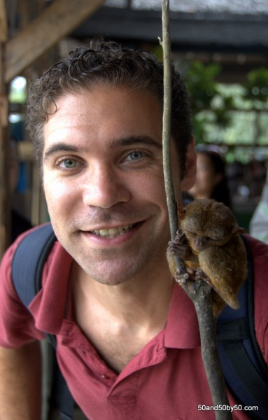 My Tarsier friend in Bohol, Philippines