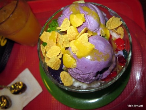 Halo Halo! Filippino dessert (Philippine cuisines at Visit50.com)