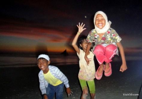 Jumping pics in Boracay