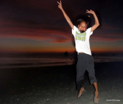 Jumping pics in Boracay, Philippines