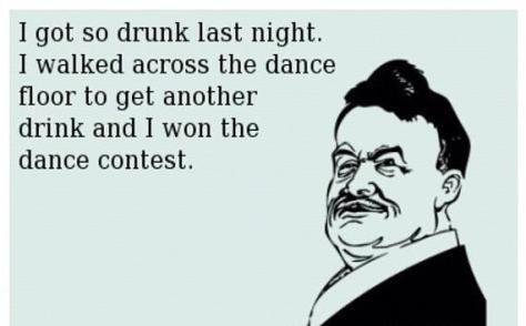 cartoon - drunk