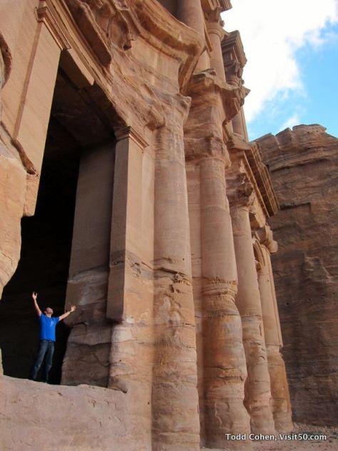 The Monastery is massive - Petra, Jordan
