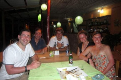 Barracuda restaurant in Bocas del Toro -