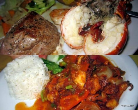 Delicious meals in Bocas Del Toro Panama. Eat your way around the archipelago while island hopping in Bocas del Toro Panama