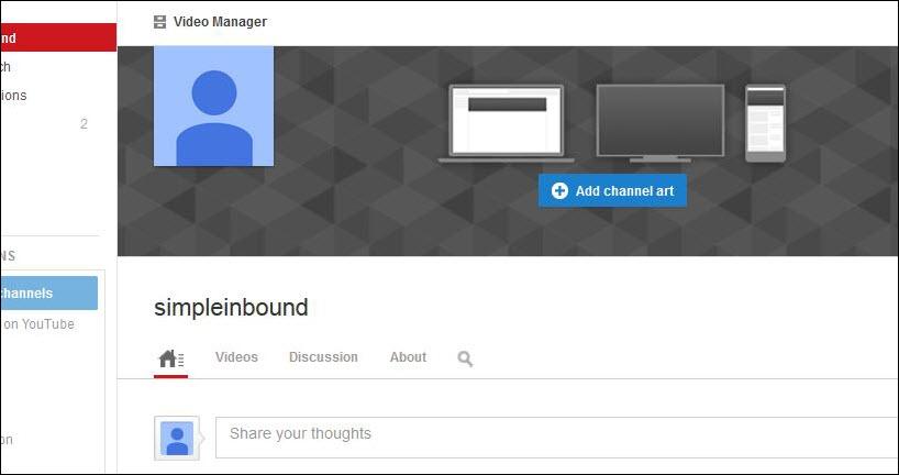 how to create a youtube logo