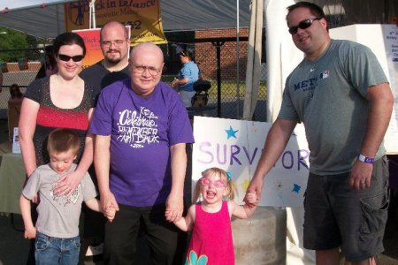 Team Jerome at the 2011 Souther Saratoga County Relay For Life
