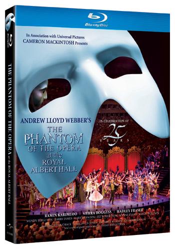 Phantom of the Opera at the Royal Albert Hall on Blu-ray