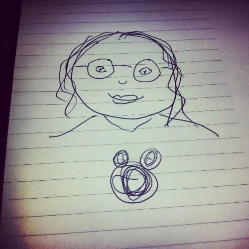 I drew Beth, aka @TheAngelForever