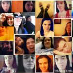 Not Quite #365feministselfie Photo Collage – January and February