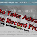 How to Take Advantage of Ancestry.com's Free Record Collection Promos