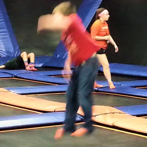 Trampoline Blur