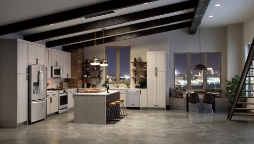 Type-A Parent LG Studio Kitchen by Best Buy