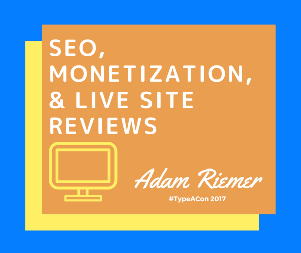 SEO, Monetization, and Live Site Reviews