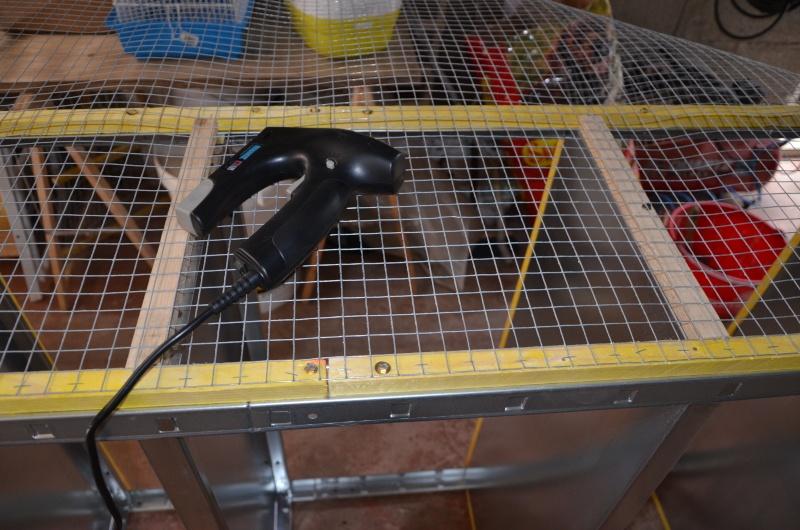cage repro 2 batterie d'élevage