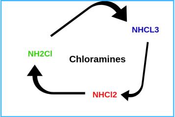 flow diagram of chloramines image