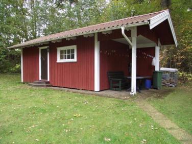 """die """"typisch"""" skandinavische Hütte"""