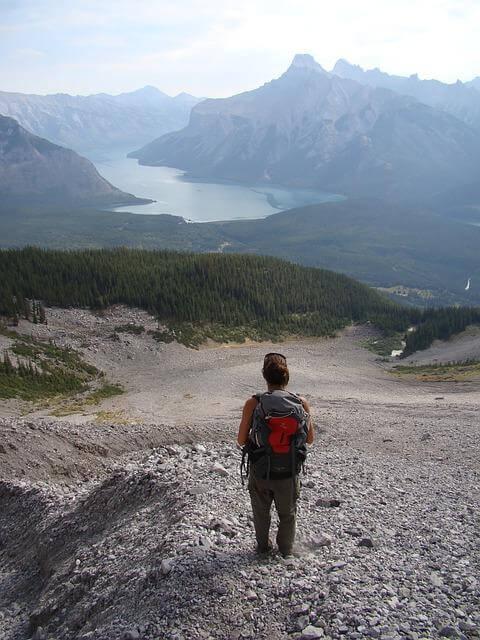 Mit dem Rucksack durch Kanada wandern