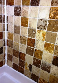 Travertine Bathroom ensuite After clean and seal Horsham