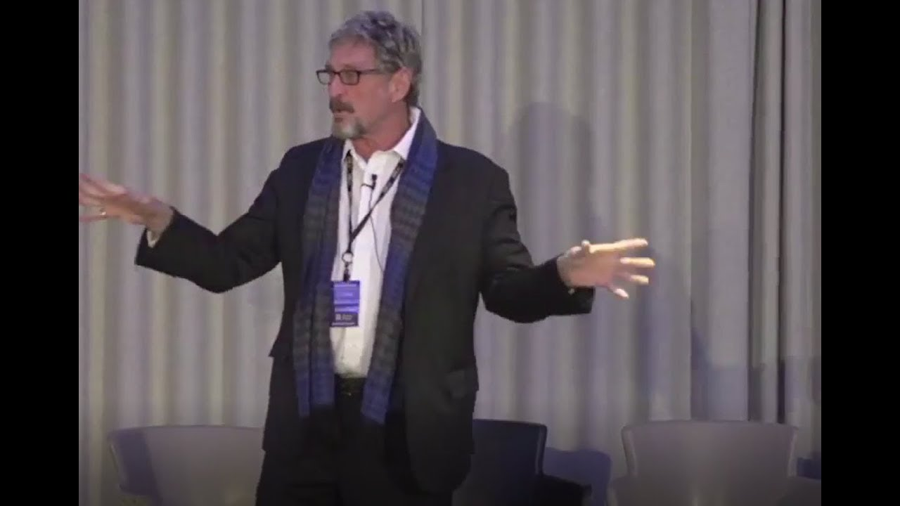 How Bitcoin can easily be Hacked John McAfee