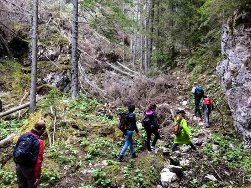 Dutch Film team in the Tatras, Slovakia