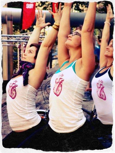 My Kula - Christi-an Yorkville CANADA  Flashmob Fridays   Yoganomics   FlashMobYoga